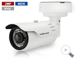 2MP Heavy-Duty Bullet Camera with Low lux