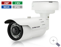 2MP Heavy-Duty Bullet Camera with Color night-vision