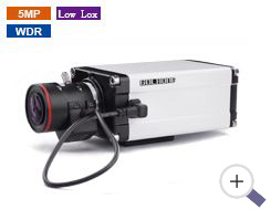 5MP Super Low Lux Box Camera with 1-1.8 inch CMOS