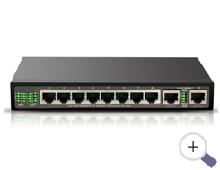 PoE Switch Gigabit 8 Port for 4K IP Camera NVR