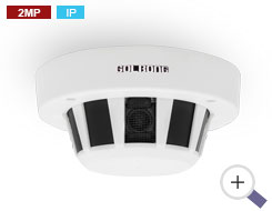 2MP IP Smoke Detector Camera