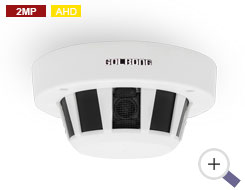 2MP AHD Smoke Detector Camera